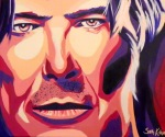 David Bowie, David Bowie painting
