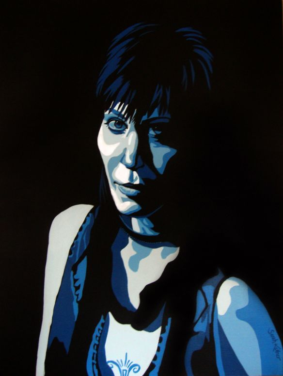Joan Jett, Joan Jett painting