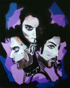 art about Prince, Prince art, Prince collage, Prince painting